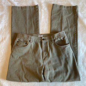 Jones New York Sport stretch jeans 10 khaki